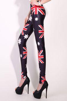 1ed6b7035c 36 Best Australia Flag Leggings images in 2019