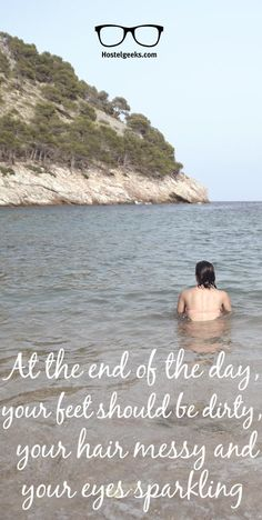 At the end of the day... Find more inspirational quotes at http://hostelgeeks.com/travel-quotes/
