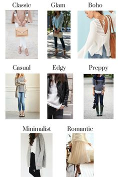 Types of Fashion Styles
