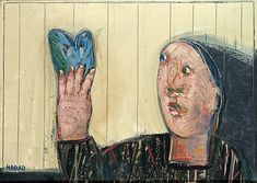Abraham HADAD (né en 1937 -) LOT DE TROIS OEUVRES, 1986, 1992, 1996