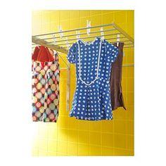 GRUNDTAL Drying rack, wall - IKEA