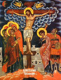 Akathist Hymn to the Divine Passion of Christ.