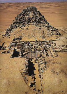 Pyramid of king Sahure, second king of the 5th dynasty, the old kingdom (2487- 2475 BC)
