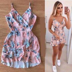 Veja mais no site Elegant Dresses, Sexy Dresses, Cute Dresses, Casual Dresses, Short Dresses, Fashion Dresses, Summer Dresses, Cute Casual Outfits, Short Outfits