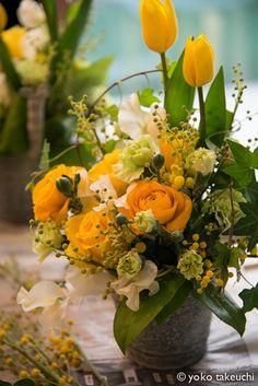 spring yellow arrangement