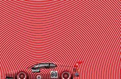 Mesmerizing Illustrations of Speed by Artist Ricardo Santos - Petrolicious