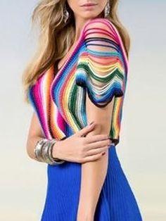 blusa colorida - Pesquisa Google