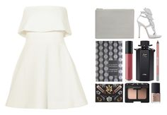 """""""4.548"""" by katrina-yeow ❤ liked on Polyvore featuring Elizabeth and James, Giuseppe Zanotti, Status Anxiety, CO, Bare Escentuals, Gucci, Urban Decay, Alexander McQueen and NARS Cosmetics"""