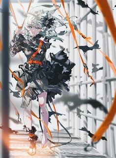 """A solo exhibition entitled """"SHE"""" by the illustrator Mai Yoneyama is currently being held at the pixiv WAEN GALLERY."""