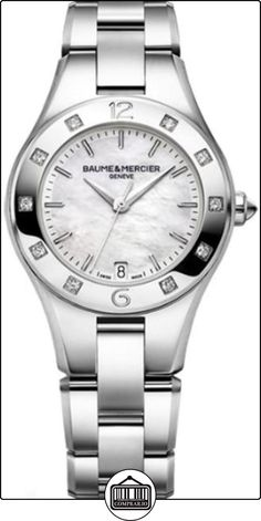 bf9d49380ce Discover the Linea 10072 Ladies steel watch with diamond-set bezel