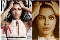 Priyanka Chopra on the cover of ELLE US issue is the hottest thing