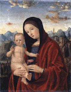 Francesco Morone - Madonna con Bambino - 1509 - Accademia Carrara di Bergamo Pinacoteca