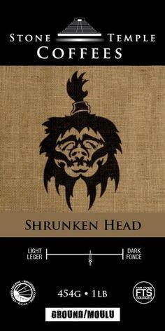 Shrunken Head 16 oz