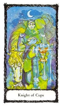 Knight of Cups - Sacred Rose Tarot