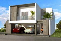 fachada moderna residencia