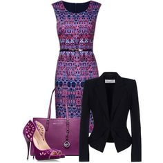 """""""Fabulous @ the office"""" by jvs8384 on Polyvore"""