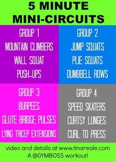5 Minute Mini Circuits Workout PLUS a #sponsored #giveaway for @Gymboss Timers timers!