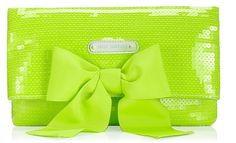They will notice!! Bright Green Handbag by Juicy Couture