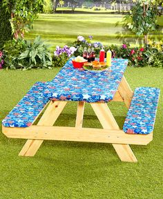 10 best picnic table covers images do it yourself woodworking rh pinterest com