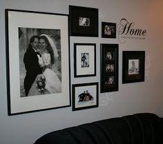Shawna's Stampin' Spot: Spotlight on Decor Elements - Photo Wall Collage