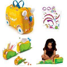 Personaliza las maletas para niños de Trunki: Trunkisaurus Rex & Rox