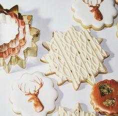 Nutmeg & Honeybee: Winter sugar cookie set