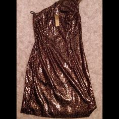 Alexia Admor Leopard Sequin One Strap Dress. Leopard sexy one strap dress. Make an offer!! Alexia Admor Dresses