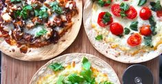 Food and the City: tortilla pizza's {the ultimate variety meal}