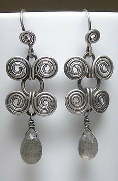 Artyzen Studio: Egyptian Coiled Wire Wrapped Earring Jewelry Class...
