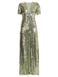 Wide-leg sequin-embellished jumpsuit  | Temperley London | MATCHESFASHION.COM UK