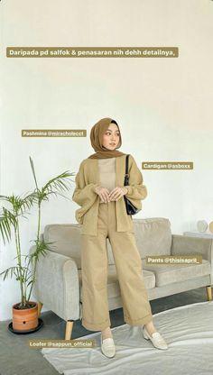 Hijab Fashion Summer, Modest Fashion Hijab, Modern Hijab Fashion, Street Hijab Fashion, Modesty Fashion, Hijab Fashion Inspiration, Teen Fashion Outfits, Muslim Fashion, Hijab Fashion Style