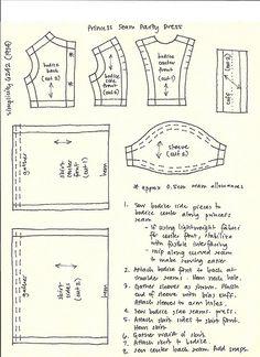 Princess Seam dress pattern by Millie, via Flickr
