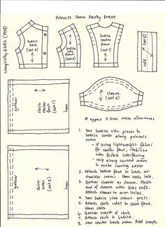 Princess Seam dress pattern by Millie, via Flickr