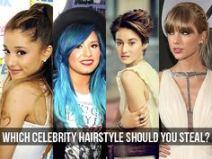 Which Celebrity Hairstyle Should You Steal?