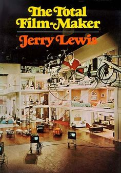 "Jerry Lewis' book on filmmaking, taken from 480 hours of audio tape, recorded as Jerry taught filmmaking at the University of Southern California, 1971. ""It's apparently one of the best books written about filmmaking ever. It was printed in 1971 and has been out of print since then."" READ THE BOOK HERE: http://cinephilearchive.tumblr.com/post/72674722317/the-total-film-maker-jerry-lewis-book-on"