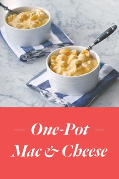 One-Pot Mac and Cheese. Get the recipe via @PureWow via @PureWow