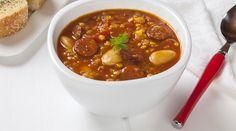 chorizo and butter bean soup