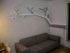 półka drzewo / Gałąź 'plus' 270x135x20