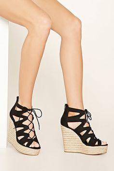 7c917f08725c Faux Suede Wedge Sandals Platform Wedges Shoes