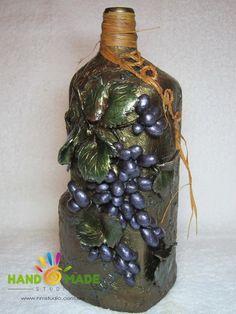 Dekoration für Weinflaschen