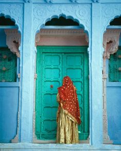 India, Jodphur, Rajasthan. Fantastic antique Indian Architecture. Photograph by Jim Zuckerman