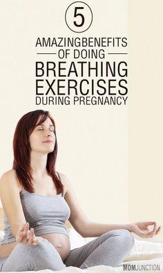 5 Amazing Benefits Of Doing Breathing Exercises During Pregnancy