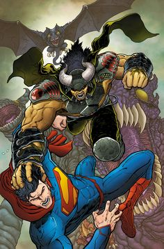 Action Comics #27 by AARON KUDER