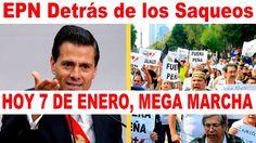 Lo que paga Peña Nieto por Vandalizar Tiendas | Mega Marcha 2017