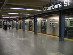 Chambers is one of the subway stops associated with the World Trade Center area.