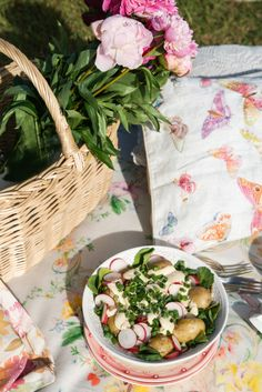 Your perfect summer picnic: New potato salad