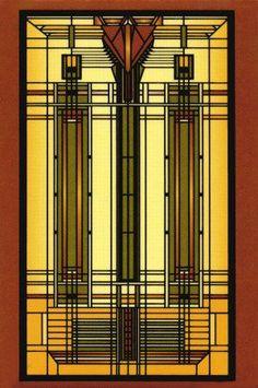 ART DÉCO - Vitrales - Frank Lloyd Wright