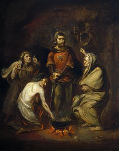 Thomas Barker of Bath - Macbeth and the Witches - c.1830