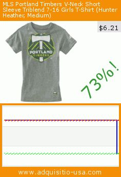 MLS Portland Timbers V-Neck Short Sleeve Triblend 7-16 Girls T-Shirt (Hunter Heather, Medium) (Sports). Drop 73%! Current price $6.21, the previous price was $22.99. https://www.adquisitio-usa.com/adidas/mls-portland-timbers-v-1