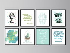 art quotes 30 Free Inspirational Quotes to Help You Kill It This Year Little Gold Pixel Free Printable Quotes, Printable Wall Art, Free Printables, Free Inspirational Quotes, Motivational Quotes, Wal Art, Foto Transfer, Wall Art Quotes, Paint Quotes